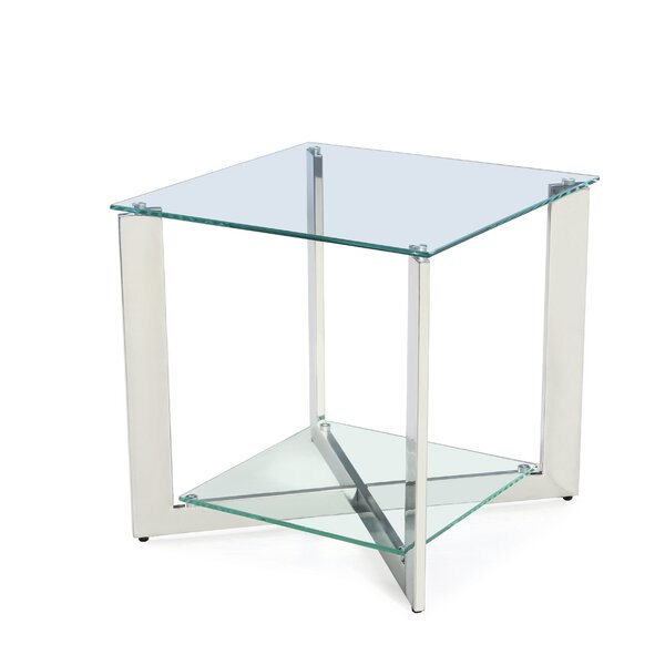 Stampley End Table with Storage by Orren Ellis