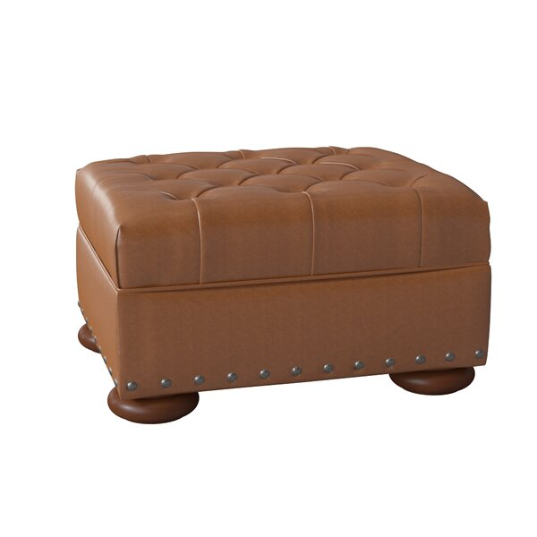 Miller Leather Cocktail Ottoman by Birch Lane�� Heritage