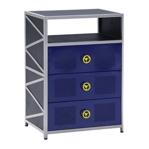 Dune Buggy 3 Drawer Chest