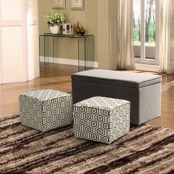 Tommy-Lee 3 Piece Ottoman Set By Latitude Run