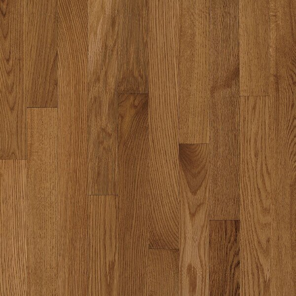 2-1/4 Solid Oak Hardwood Flooring in High Glossy Mellow by Bruce Flooring