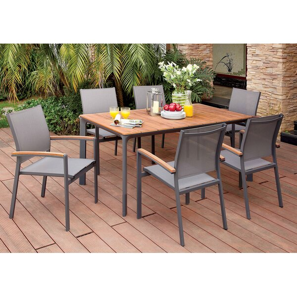 Lobsien 7 Piece Dining Set by Latitude Run