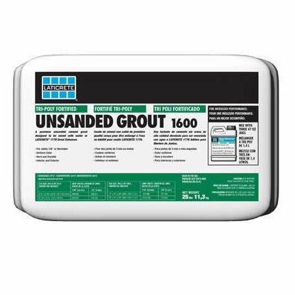 LAT 1600 Unsanded Grout 8 Lb by Laticrete