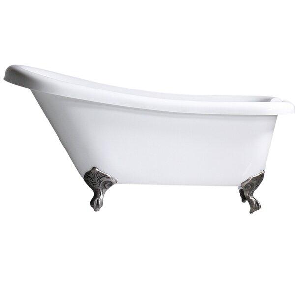 Hotel Acrylic 57 x 30 Freestanding Soaking Bathtub by Baths of Distinction