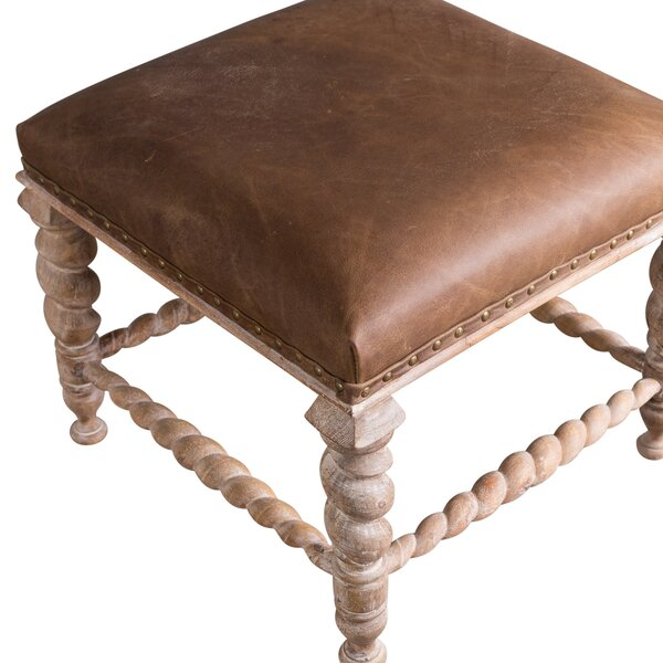 Mireya Eastern Influenced Accent Stool by Darby Home Co