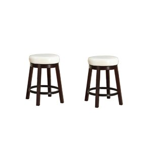 24 Swivel Bar Stool (Set of 2) by Roundhill Furniture