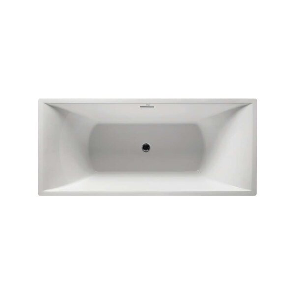 Serenity 71 x 32 Soaking Bathtub by Virtu USA