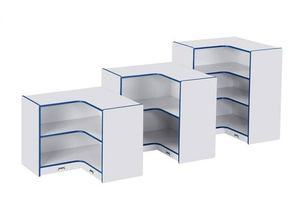 Rainbow Accents® 3 Compartment Shelving Unit by Jonti-Craft