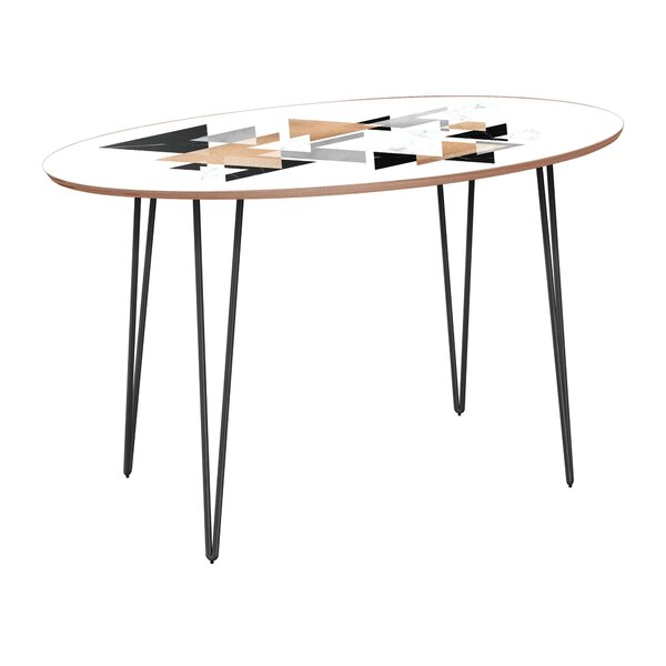 Vickers Dining Table by Bungalow Rose