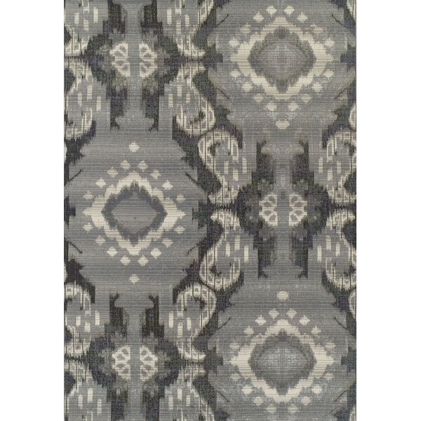 Toni Pewter Indoor/Outdoor Area Rug by Bloomsbury Market