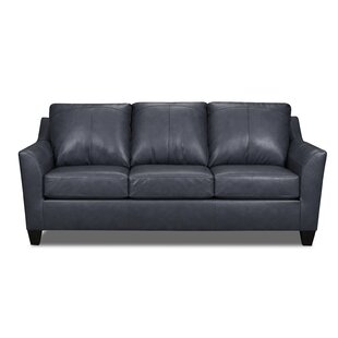 Basham Leather Sofa Bed