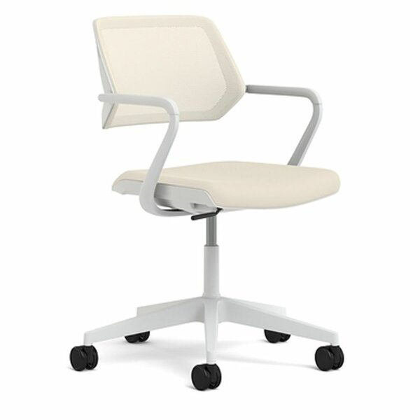 QiVi Mid-Back Mesh Desk Chair by Steelcase