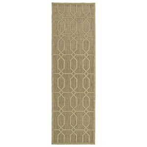 Covedale Khaki Indoor/Outdoor Area Rug