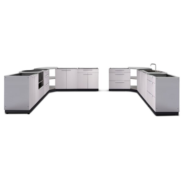 @ Kitchen 11 Piece Outdoor Bar Center Set by NewAge Products| #$7,699.99!