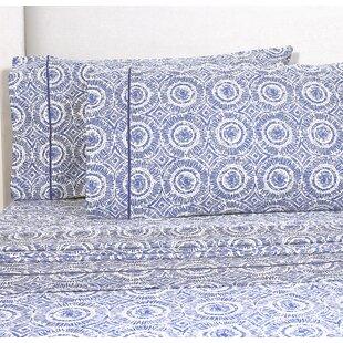 Maeva 400 Thread Count 100% Cotton Sheet Set By Mistana