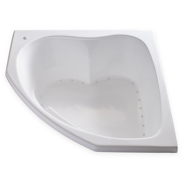 Hygienic Air 55 x 55 Bathtub by Carver Tubs