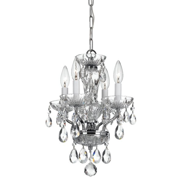 Weigel 4-Light Candle Style Classic / Traditional Chandelier by Astoria Grand Astoria Grand
