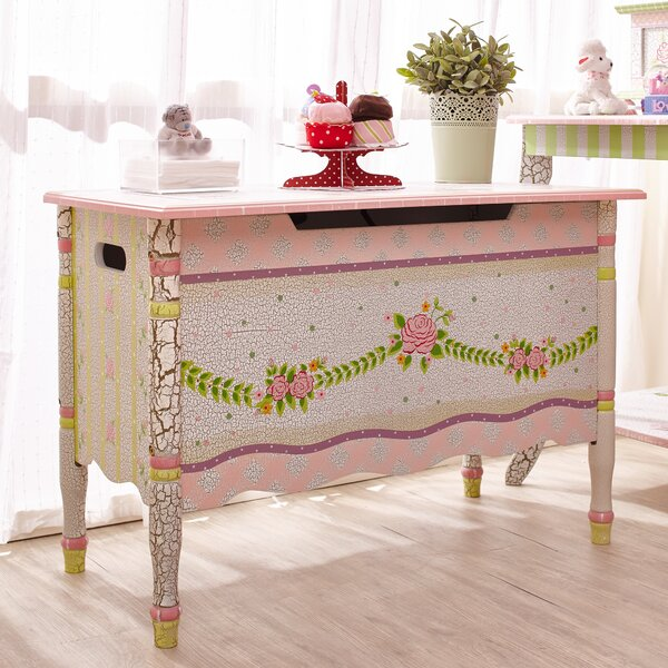 Carnival Toy Box Pink: Fantasy Fields Crackle Toy Chest & Reviews