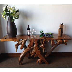 Chic Teak Teak Root Console Table