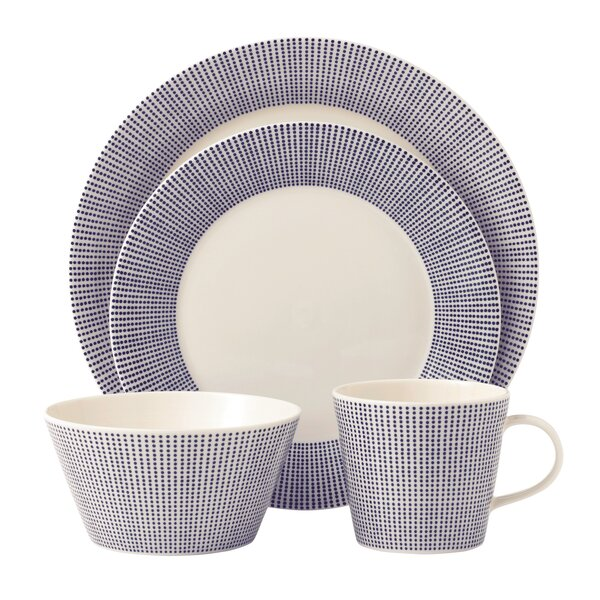 Pacific 4 Piece Place Setting, Service for 1 by Royal Doulton