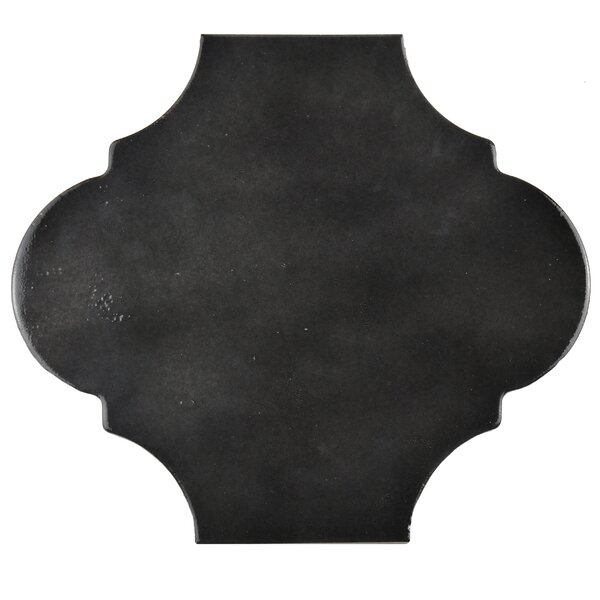 Marr 10.38 x 11.38 Porcelain Field Tile in Black by EliteTile