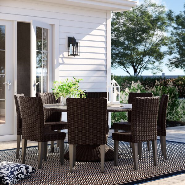 Fairfield 9 Piece Dining Set By Sol 72 Outdoor by Sol 72 Outdoor New
