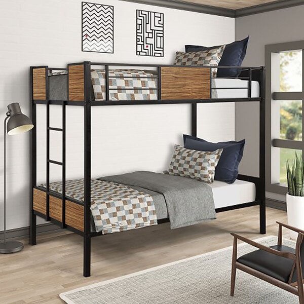 Sam Twin over Twin Bunk Bed by Harriet Bee