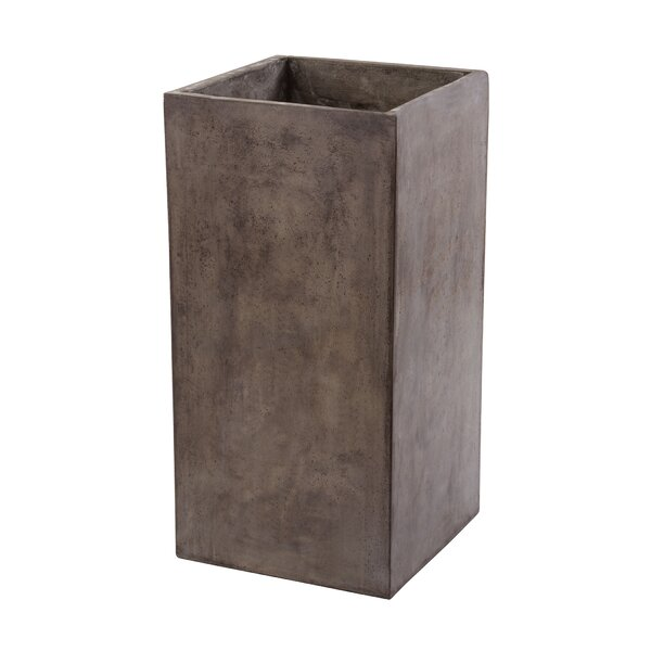 Crowl Concrete Pot Planter by 17 Stories