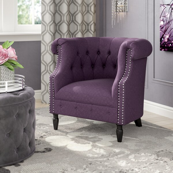 Bourbeau Chesterfield Chair by Willa Arlo Interiors