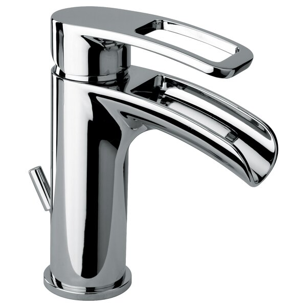 Single Hole Lavatory Faucet with Waterfall Spout by Jewel Faucets