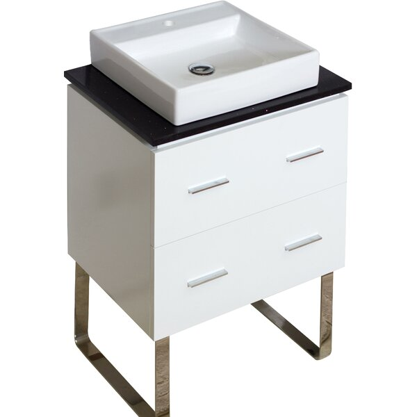 Kaplan Floor Mount 24 Single Bathroom Vanity Set by Royal Purple Bath Kitchen