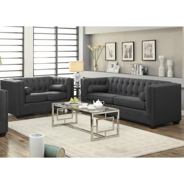 #1 2 Piece Living Room Set By Infini Furnishings Modern