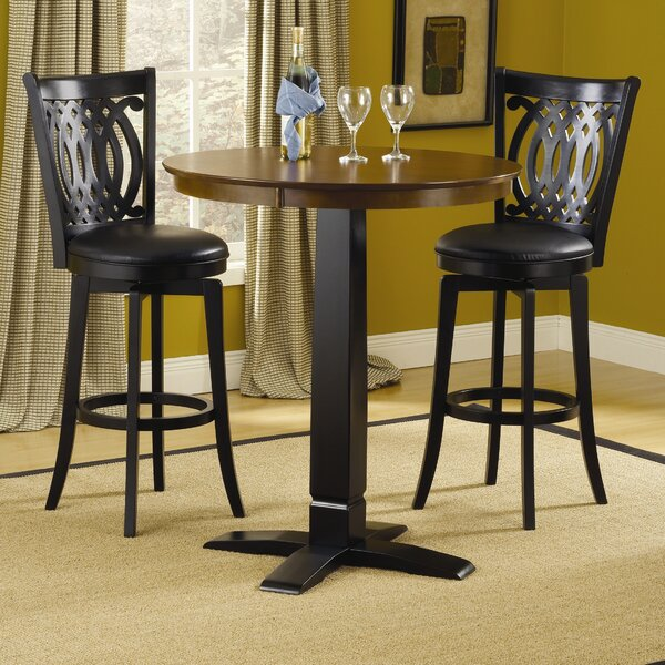 Linden 3 Piece Pub Table Set by Red Barrel Studio