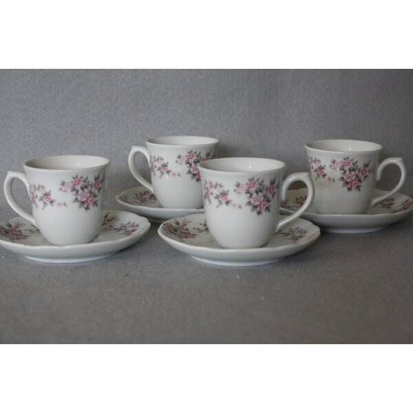 Berangaria Espresso Teacup (Set of 4) by Darby Home Co