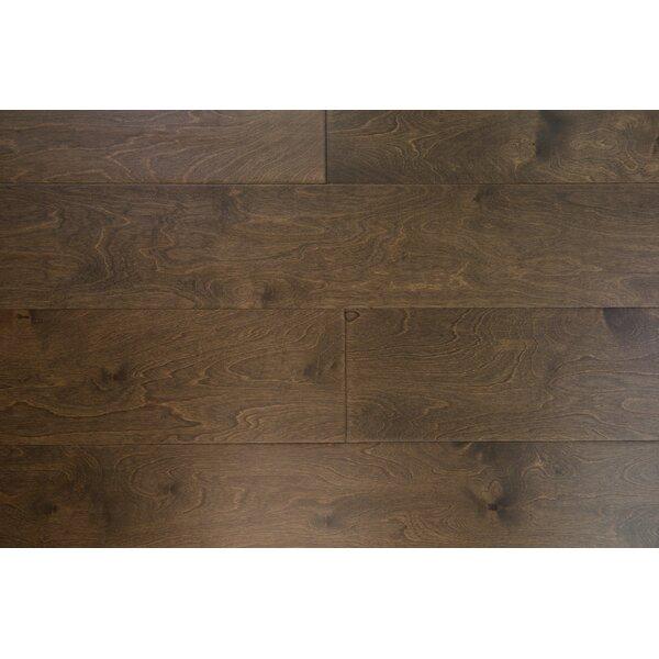 Stockholm 7-1/2 Engineered Birch Hardwood Flooring in Almond by Branton Flooring Collection