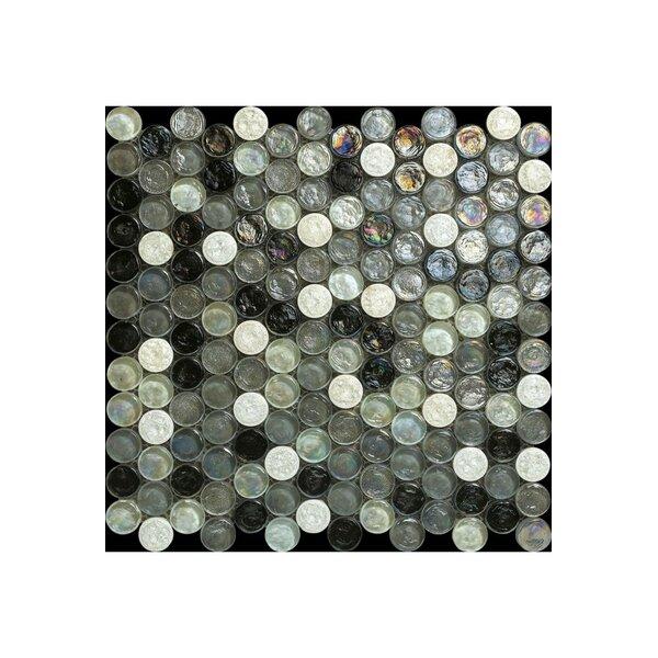 Noce Glass Mosaic Tile in Mixtured by Kellani