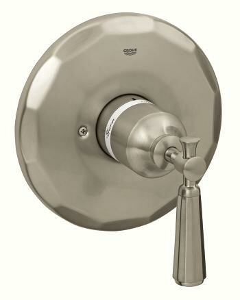 Kensington Pressure Balance Valve Faucet Trim with Lever Handle by Grohe