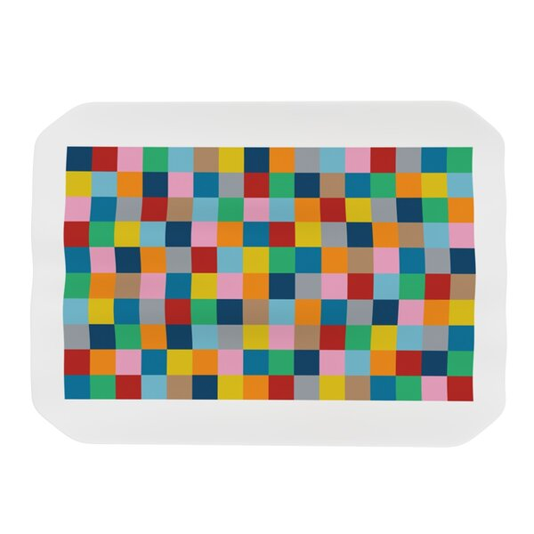 Colour Blocks Zoom Placemat by KESS InHouse