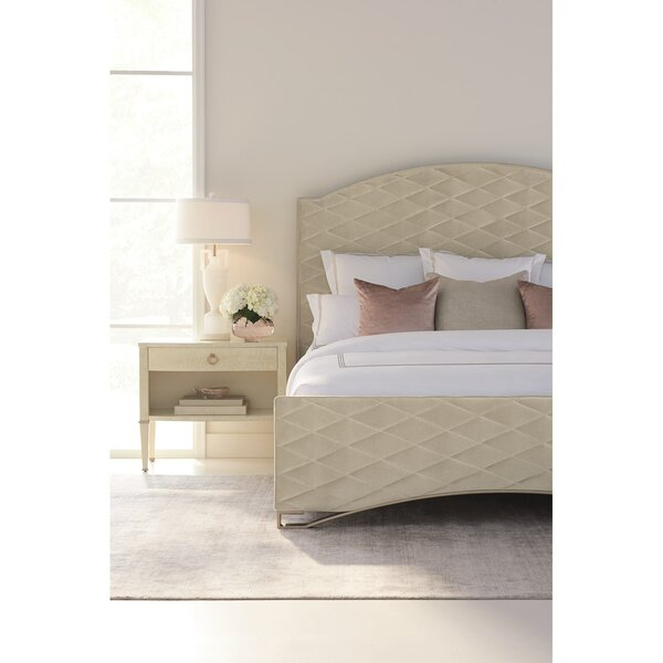Quilty Pleasure Upholstered Standard Bed with Mattress by Caracole Classic