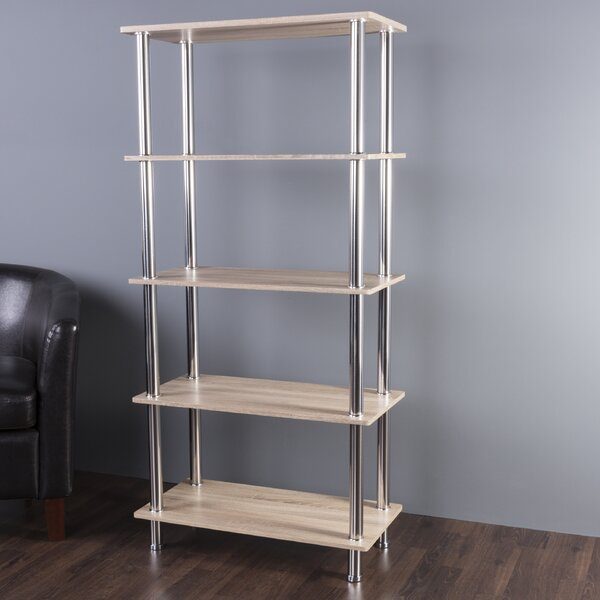 Adelinna 5 Tier Etagere Bookcase by Latitude Run