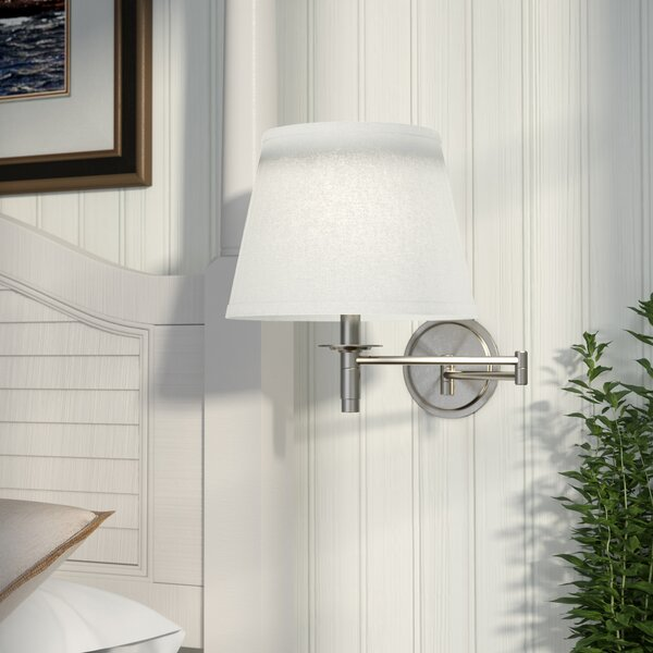 Aquila Swing Arm Lamp by Beachcrest Home