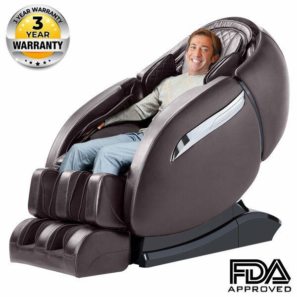 810L Reclining Adjustable Width Heated Full Body Massage Chair By Latitude Run