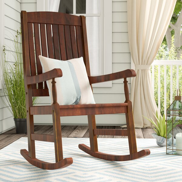 Rothstein Rocking Chair by Beachcrest Home
