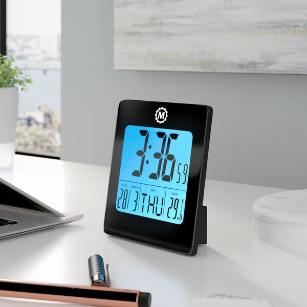 Desk Clock by Symple Stuff