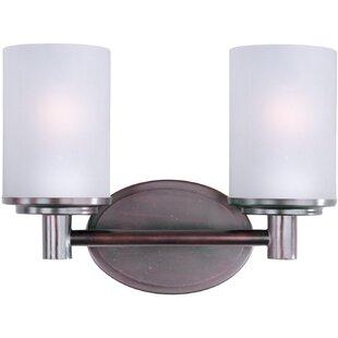 Affordable Milazzo 2-Light Vanity Light By Latitude Run
