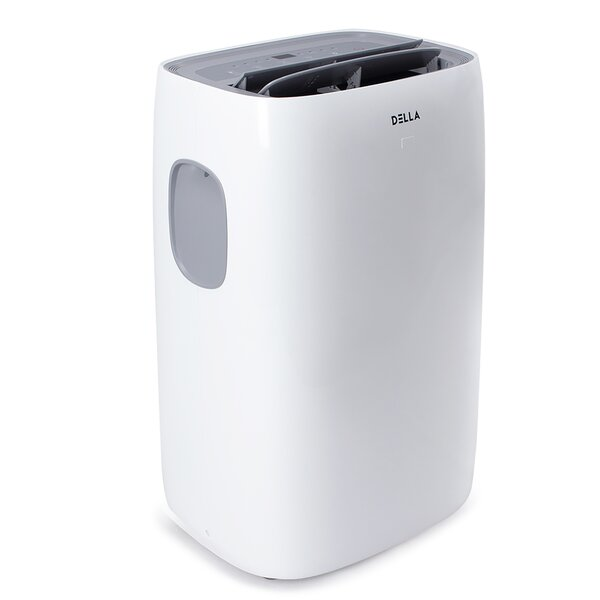 12,000 BTU Portable Air Conditioner with Remote and WiFi Control by Della