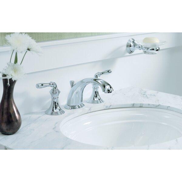 Devonshire Widespread Bathroom Faucet with Drain Assembly by Kohler Kohler