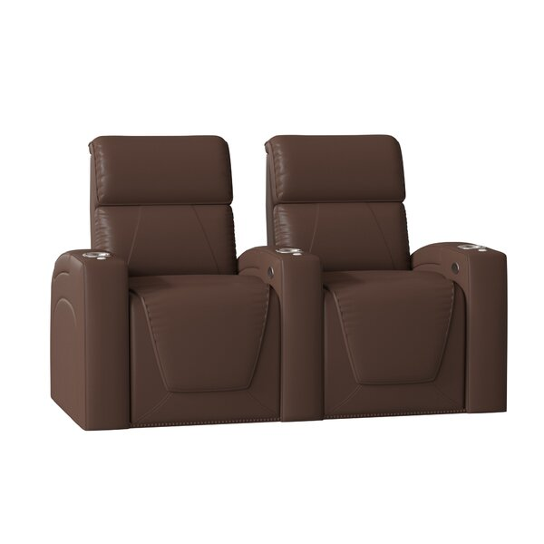 Zone HR Series Home Theater Recliner (Row Of 2) By Winston Porter