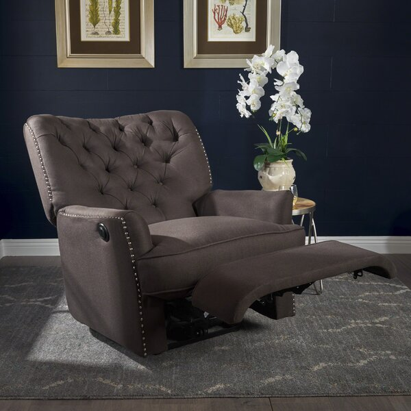 Prestbury Fabric Power Single Motor Recliner by Al
