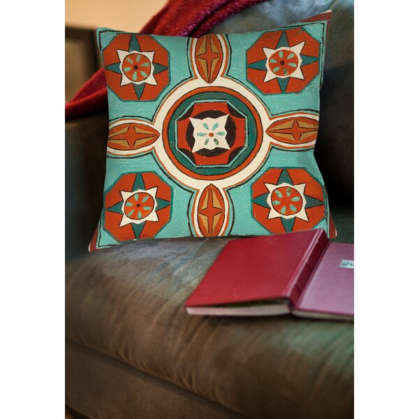 Laila 4 Printed Throw Pillow by Bloomsbury Market